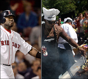 Current job: Red Sox designated hitter Could have been: Executive chef Hey, Big Papi loves food. He likes his Caribbean-inspired rice dishes, his mango salsa is well known, and he's no novice around the grill.