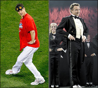 Current job: Red Sox closer Could have been: Professional dancer Some call the dancing genius. Some call it beyond awful. But enough about Michael Flatley. What Papelbon and the king of 'Riverdance' share is inspiration . And we have no doubt that Paps would rip it up just as hard in a bow tie and white gloves as he does with two outs in the bottom of the ninth.