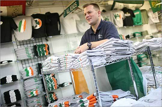 Jack Doherty, president of College Hype. His 'Dot Rat' shirt can be seen in Ben Affleck's new film, 'Gone Baby Gone.'