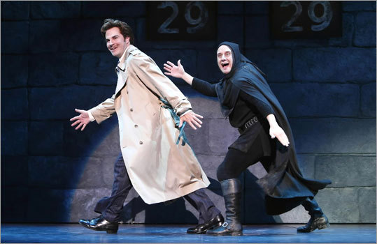 Roger Bart and Christopher Fitzgerald