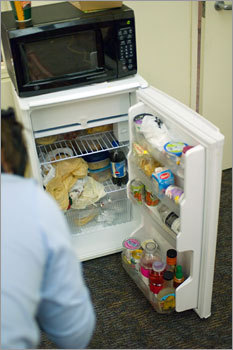 Bon The Office Fridge. Every Workplace Has One. Everybody Uses It. No One Wants