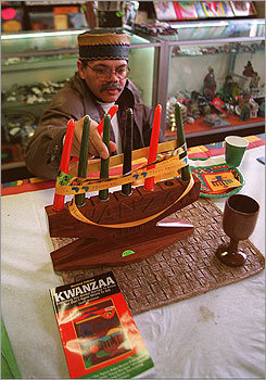 Most exchange gifts on Jan. 1, the final day of Kwanzaa, but others sometimes elect to give gifts throughout the seven days of celebration.