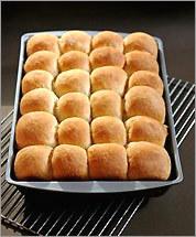 Overnight pan rolls