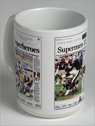 Patriots mug