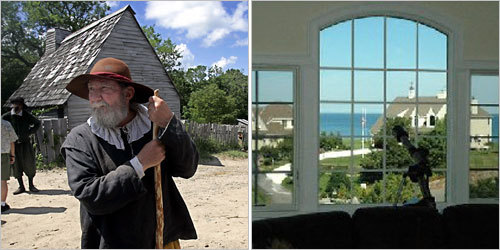 In 1621, English colonists and Native Americans of the Wampanoag tribe shared a feast in Plymouth in what came to be known as the first Thanksgiving. Now, 386 years later, here's a look at some of the homes in Plymouth, from million-dollar mansions to quaint homesteads. All homes taken from the Boston.com real estate listings