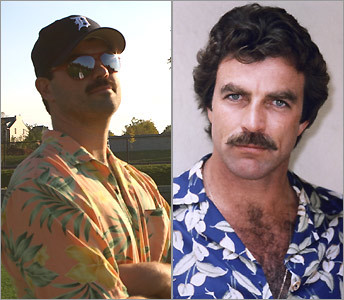 Alden Cadwell and Tom Selleck