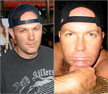 Fred Durst and Jon Fitzpatrick
