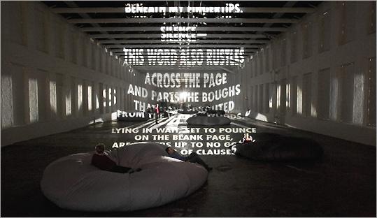 Jenny Holzer's 'Projections'