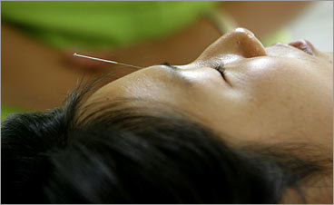 Consider acupuncture and massage as valid therapies for chronic problems, such as back pain and neuropathy. Seeing a good massage therapist for neck strain may work better than taking extra strength Tylenol and/or Advil regularly. -Dr. Nancy Norman, medical director of the Boston Public Health Commission