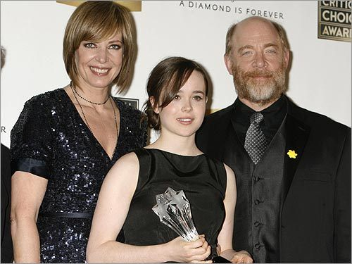 Allison Janney, Ellen Page, and J.K. Simmons