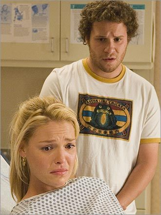 Katherine Heigl and Seth Rogen in 'Knocked Up'