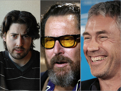 Jason Reitman, Julian Schnabel, and Tony Gilroy