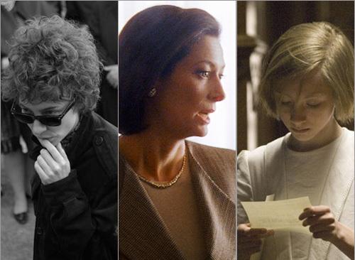 Cate Blanchett, Tilda Swinton, and Saiorse Ronan