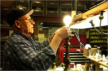 O'Neill continues : Unlike incandescent bulbs, CFLs use small amounts of mercury to operate. Some concern has arisen over this, but according to life cycle assessments, far more mercury is released from the generation of power used for incandescent bulbs than in the manufacture and use of CFLs over the course of their working life. So while that still makes CFLs the better environmental choice, they should not be tossed out with your regular household trash. The good news is that mercury in CFLs can be recovered and recycled. IKEA has already implemented an in-store recycling program, and programs at Wal-Mart and Home Depot aren't far behind. You can also bring them to your municipal household hazardous waste collection.