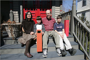 INVESTING IN THE ARTS Glitzy new theaters are nice, but what about the old, crumbling spaces? Give arts advocate Dan Hunter (pictured, with his family) props for pushing legislators to hand out $16.7 million as part of Massachusetts's first Cultural Facilities Fund . The money helps pay for fix-it projects throughout the Commonwealth, from a theater at Jacob's Pillow in Becket to the Days Lumber Yard building at the Fine Arts Work Center in Provincetown.