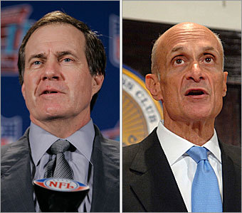 Current job: Head coach Could have been: Homeland security chief If he weren't leading the Patriots to a fourth Super Bowl appearance in seven years, maybe Bill Belichick would have followed a similar career path as US homeland security chief Michael Chertoff (right). Think about it. Neither exposes more info than needed in a press conference. Before becoming head of homeland security, Chertoff was co-author of the Patriot Act, which included controversial provisions allowing for increased monitoring of electronic communications by law enforcement. Patriot Act ... electronic monitoring ... is it just a coincidence? Maybe, maybe not. As Bill would say, 'It is what it is.'
