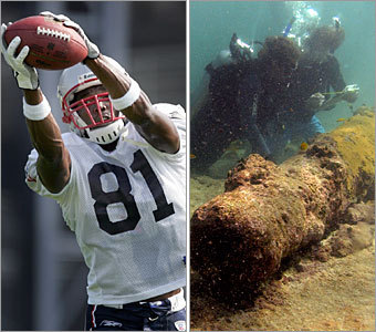 Current job: Wide receiver Could have been: Underwater archeologist Whenever the Pats take the field, they are always one play away from a score, thanks to the deep-field talents of Randy Moss. His ability to overcome any obstacle -- whether it be double coverage or underwater pressure -- would serve him in the depths of the ocean as well as it does in the depths of an opponent's secondary. And his penchant to score -- touchdowns or valuable artifacts -- wouldn't hurt either.