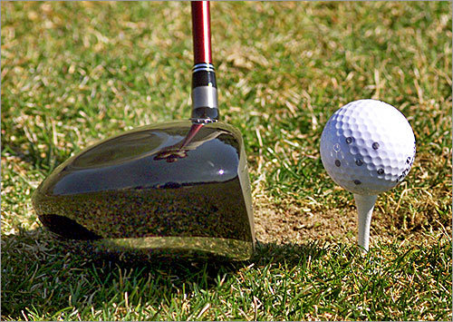 9. Take a swing at the heart Got your heart set on a duffer? Put their name on a golf ball and they'll think of you every time they're stuck in the rough. An added bonus is that while they normally come home sulking about lost golf balls, now they'll know which ones are theirs. Prices vary by length of text and type of ball.