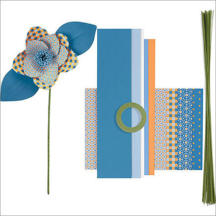 4. Create a paper bouquet The rules haven't changed since you were a child, hand-drawing birthday cards for your parents. Nothing says 'I love you' quite like a hand-crafted project. That's why Paper Source's flower kits scream thoughtfulness. Starting at $14, you can give your darling a bouquet that you truly put some effort into.