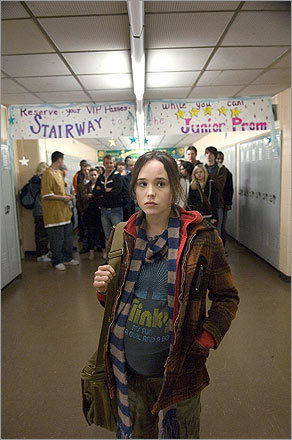 8. A light movie? Hey, look at her: She got pregnant in high school and dealt with it. Try 'Juno' or another good movie to remind us that it is time for us to stop all of our sobbing.