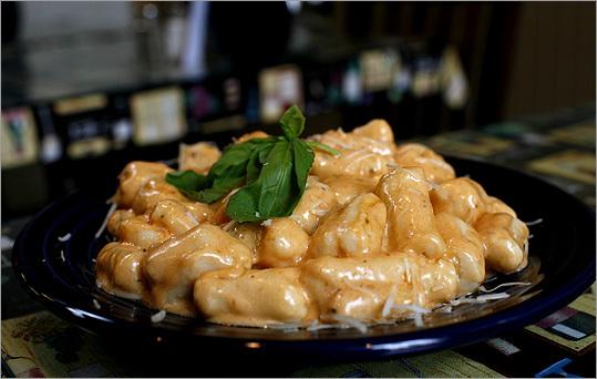 Gnocchi at Peppercornz