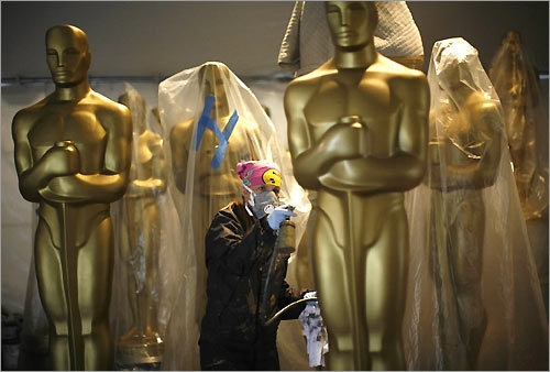 Gayle Etcheverry painting Oscars
