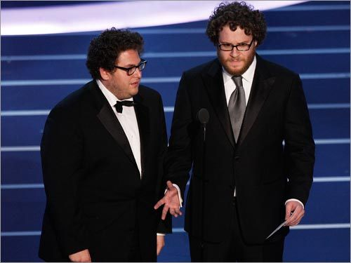 Jonah Hill and Seth Rogan