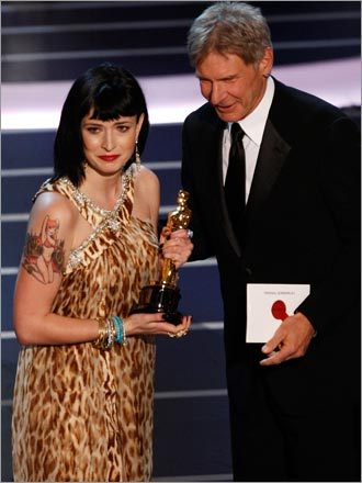 Harrison Ford and Diablo Cody