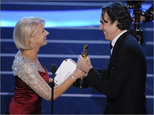 Daniel Day-Lewis and Helen Mirren