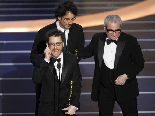 Ethan Coen, Joel Coen, and Martin Scorsese