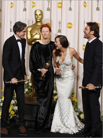 Daniel Day-Lewis, Tilda Swinton, Marion Cotillard, and Javier Bardem
