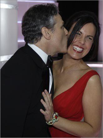 Jon Stewart and Tracy McShane