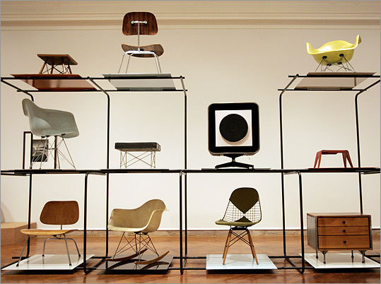Furniture by Charles and Ray Eames