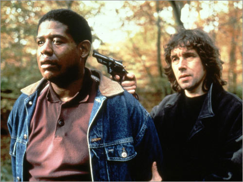 Forest Whitaker and Stephen Rea in 'The Crying Game'
