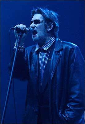Shane McGowan of The Pogues