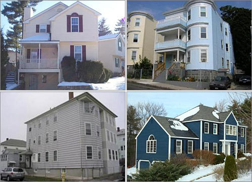 As the foreclosure crisis continues, many lenders find themselves in a position they didn't intend to be in: Owning lots of homes. The result is a glut of bank-owned homes on the market. One report estimates that mortgage companies resell foreclosed homes in Massachusetts for 80 cents on the dollar , on average. Here is a look at some bank-owned homes up for sale across the state. (All photos, descriptions, and other information from the Boston.com Real Estate listings)