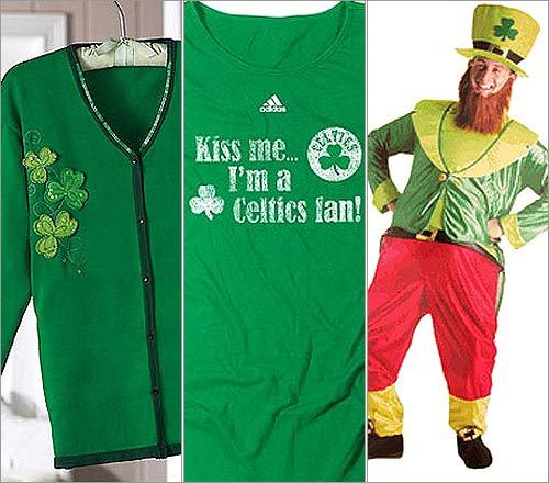 What kind of clothing do the people of Ireland wear?