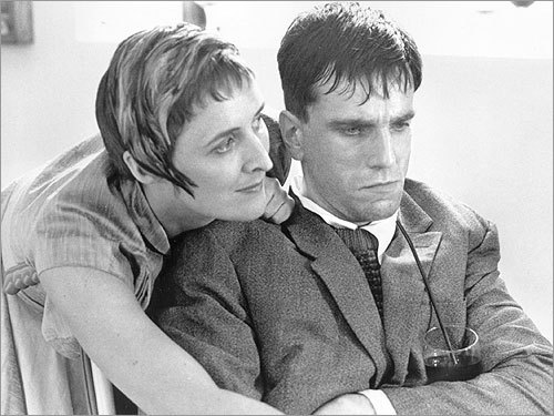 Daniel Day-Lewis and Fiona Shaw in 'My Left Foot'