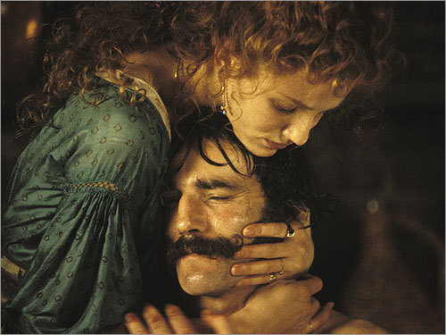 Cameron Diaz and Daniel Day-Lewis in 'Gangs of New York'