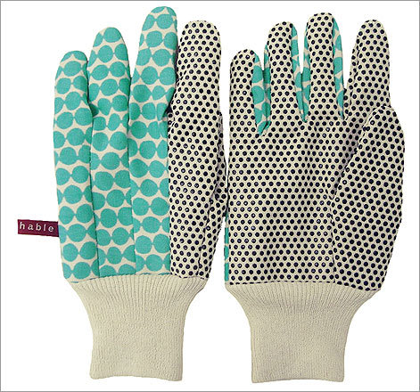Bead Garden Gloves , $25 In nine colors and patterns. Available at Hable Construction hableconstruction.com These durable, lightweight gloves are as pretty as they are functional.