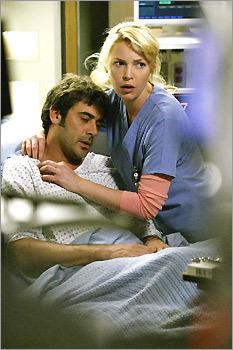 Denny & Izzie on 'Grey's Anatomy'