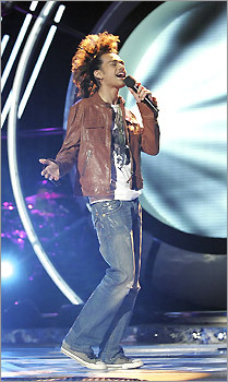 Sanjaya on 'American Idol'