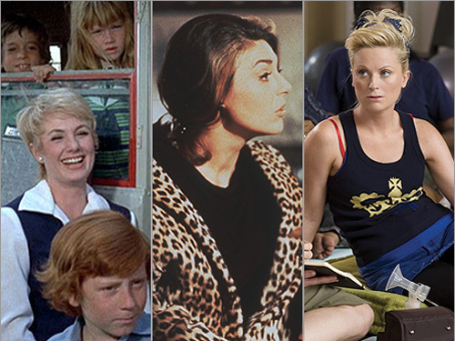 From left: 'The Partridge Family,' 'The Graduate,' and 'Baby Mama'
