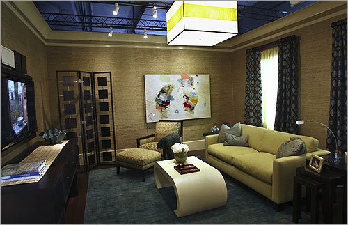 design center dream home boston the family room designed by