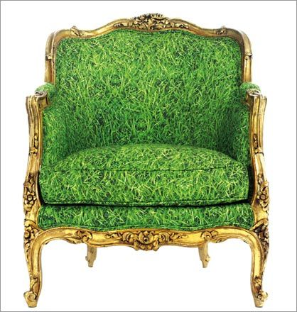 Green Chair by Chair Couture
