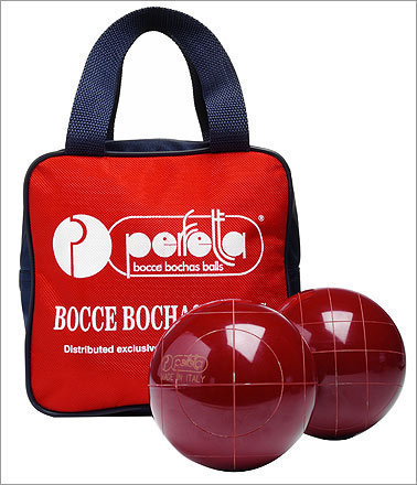 Pro Bocce Set , $200, from Design Within Reach, dwr.com Too much potato salad? Bocce is one of the best yard games to play on a full stomach (read: minimal movement, zero physical contact). This classic set could easily belong to your Italian grandpa.