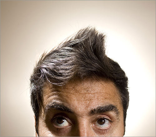 According to popular theory, parting your hair on the left reveals a tendency toward logical, left-brain thinking. Parting it on the right suggests a more artistic, intuitive bent. But the modern man prides himself on drawing from both sides. That might explain the enduring appeal of the fauxhawk. In a decade otherwise undefined by men's tonsorial tendencies – no ubiquitous buzzcuts, unruly lions manes, or Cobain hair -- the one constant seems to be the follicular push toward the center. Don't believe us? Check out the evidence and tell us what you think.