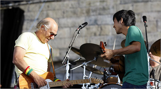 jimmy buffet, Jake Shimabukuro