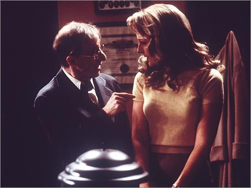 Woody Allen and Helen Hunt