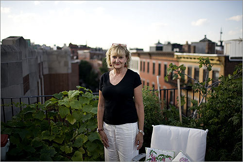 When Michele Topor moved to Boston in 1970, she'd been accustomed to the wide-open spaces a childhood in Central Massachusetts affords. A lifelong gardener who'd helped her mother tend large plots, the new city dweller found spaces to cultivate wherever she could. Topor hit the jackpot with her condo purchase 20 years ago.
